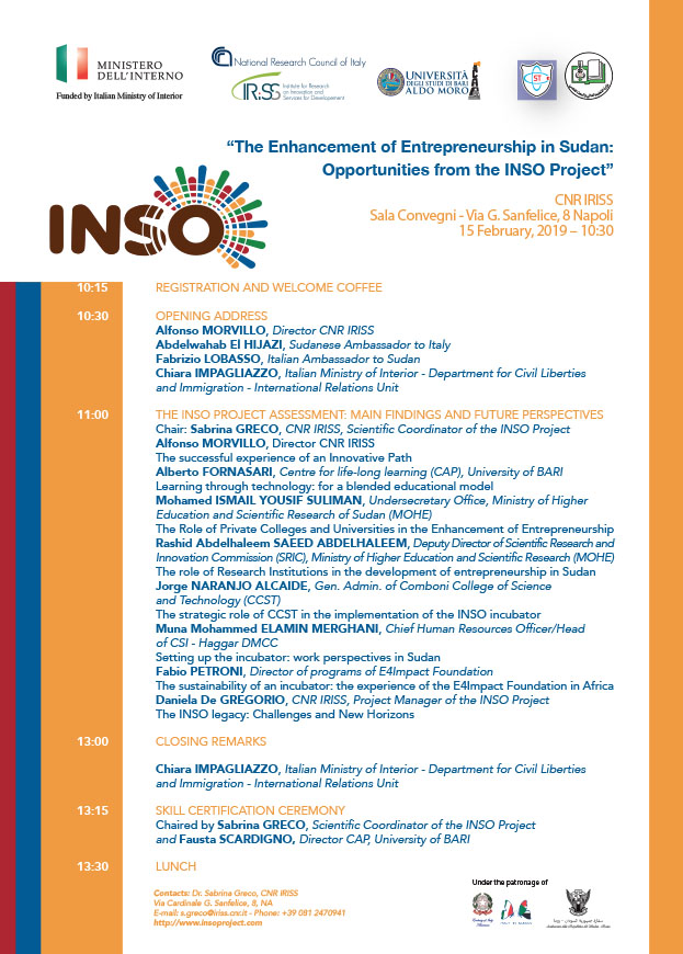 Programma-Convegno-The-Enhancement-of-Entrepreneurship-in-Sudan-Opportunities-from-the-INSO-Project