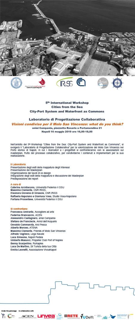 Laboratorio di Progettazione Collaborativa. Visioni condivise per il Molo San Vincenzo: what do you think?