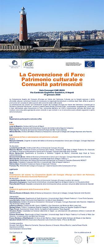 Locandina Seminario Convenzione di Faro