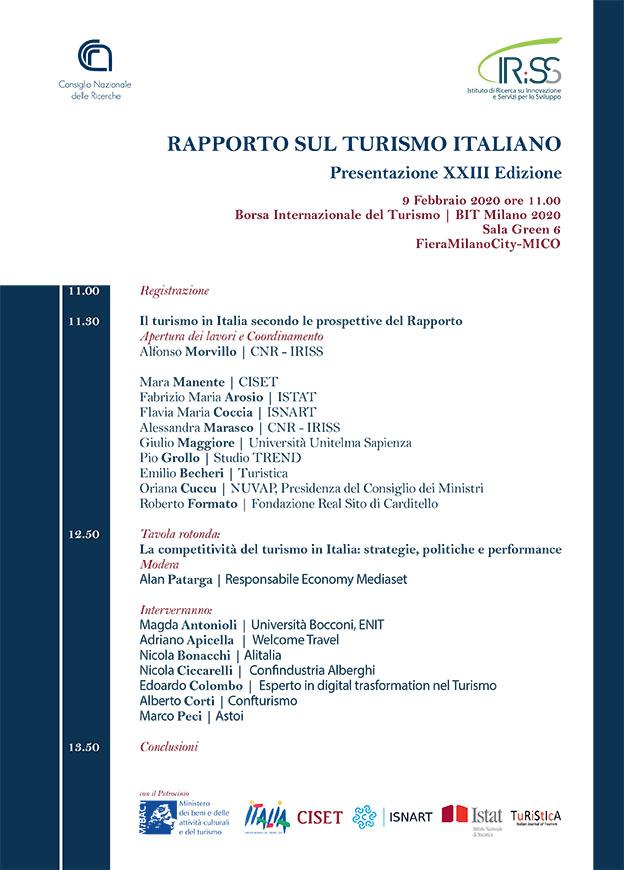 Locandina-XXIII-Rapporto sulTurismo Italiano_2020