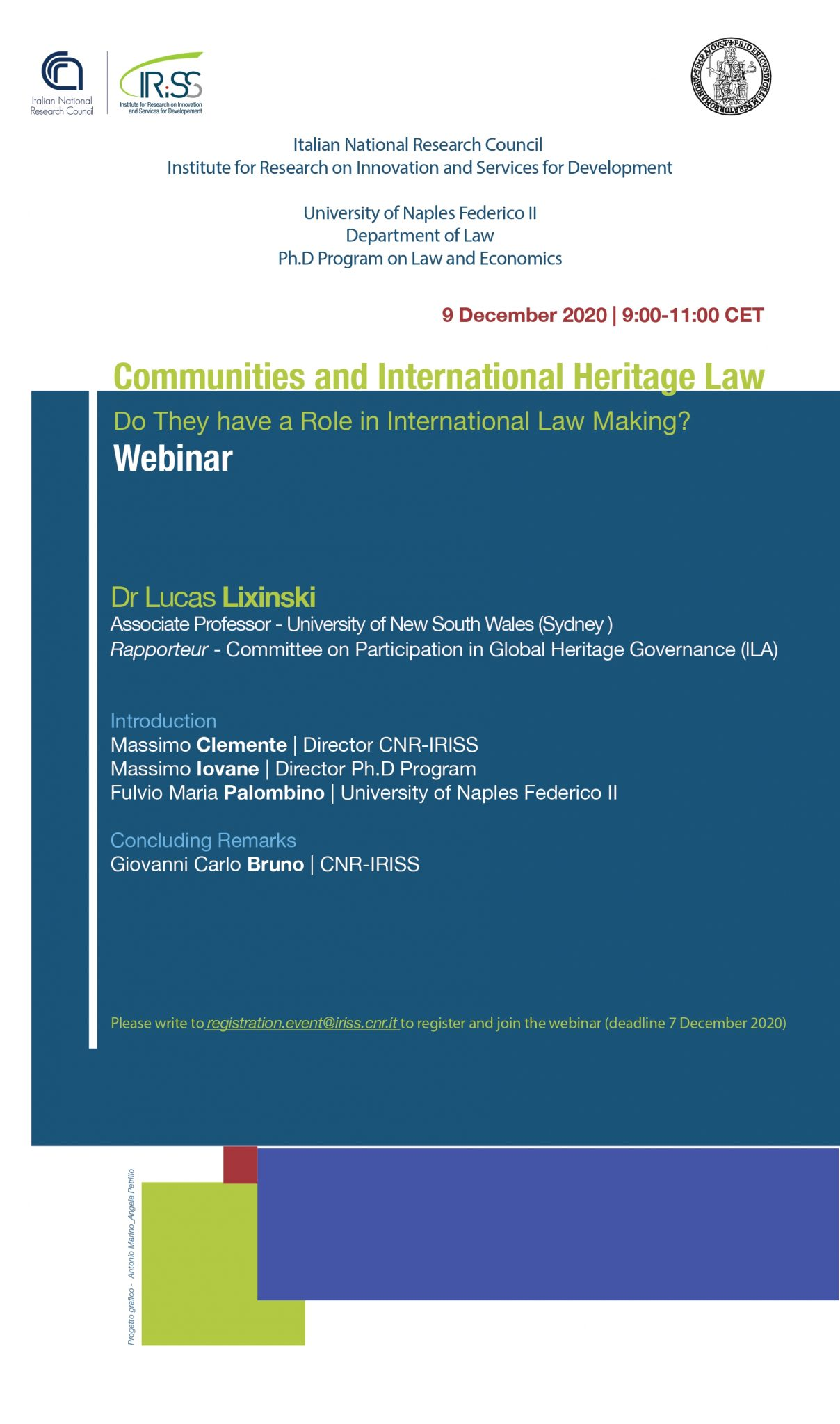 Communities and International Heritage Law. Do They have a Role in International Law-Making?