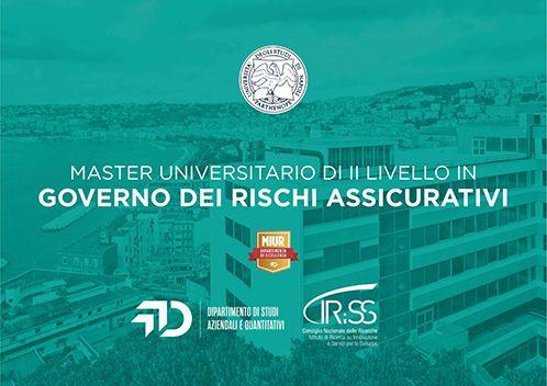 """Chiusura 1° Master Universitario di II livello in """"Gestione dei rischi assicurativi-MAGRISK"""""""