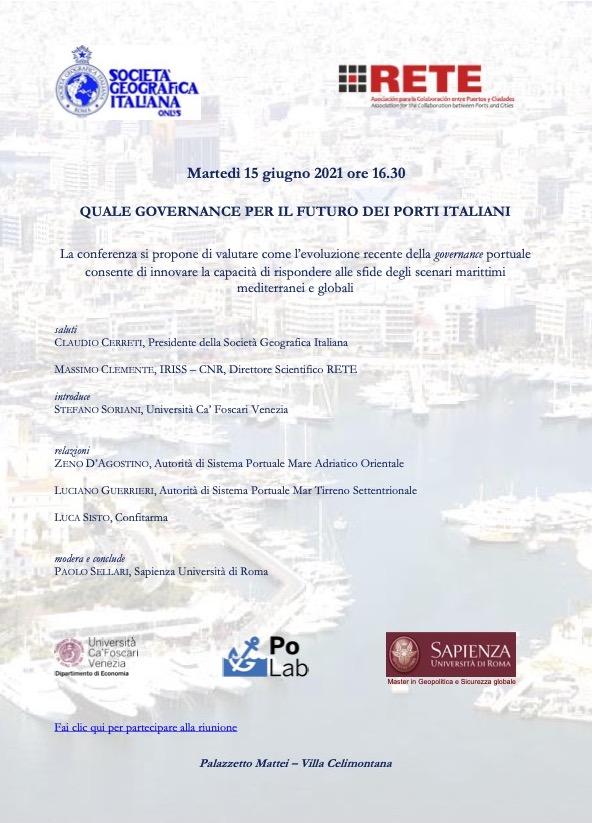 Quale Governance per il Futuro dei Porti Italiani